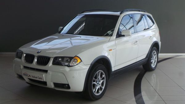 2006 BMW X3 3.0d Activity At  Western Cape Somerset West_0