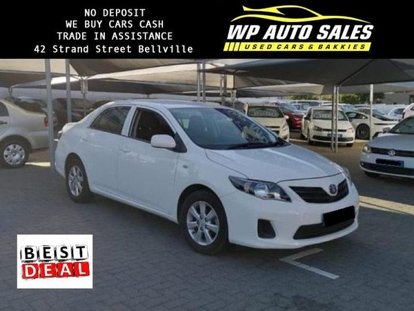 2016 Toyota Corolla Quest 1.6 Plus Western Cape Bellville_0