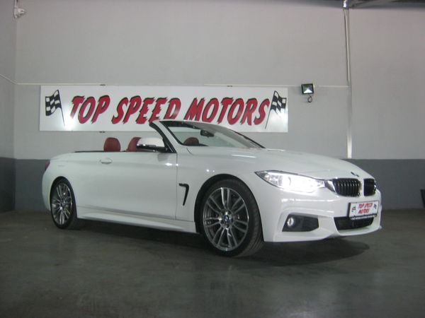2015 BMW 4 Series 435i Convertible M Sport Auto Gauteng Vereeniging_0