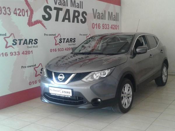 2016 Nissan Qashqai 1.2T Acenta CVT Gauteng Vanderbijlpark_0
