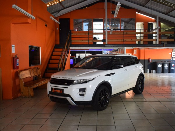 2013 Land Rover Evoque 2.2 Sd4 Dynamic  Western Cape Goodwood_0