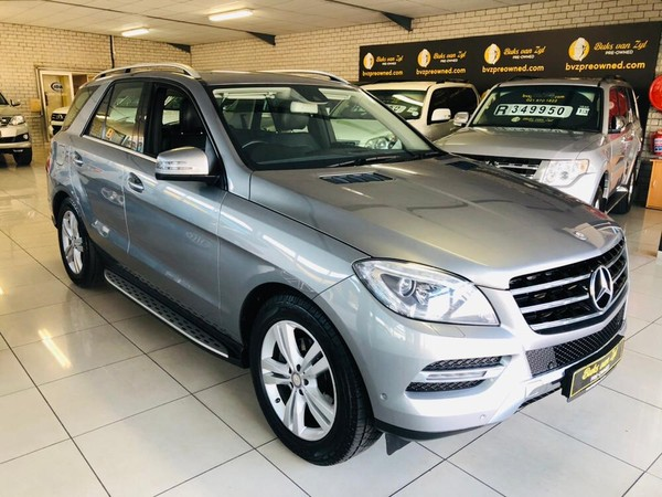 2014 Mercedes-Benz M-Class Ml 350 Bluetec  Western Cape Paarl_0