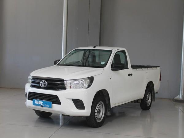 2017 Toyota Hilux 2.4 GD-6 SRX 4X4 Single Cab Bakkie Gauteng Boksburg_0