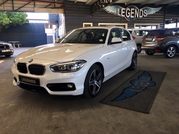 2016 BMW 1 Series 120d Sport Line 5dr At f20  Western Cape Strand_0