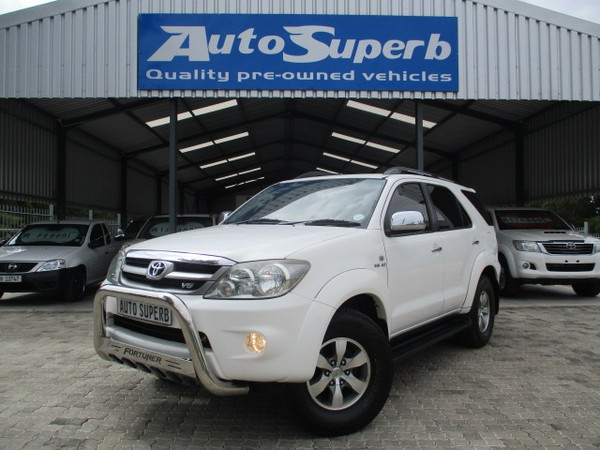 2007 Toyota Fortuner 4.0 V6 At 4x4  Western Cape Swellendam_0