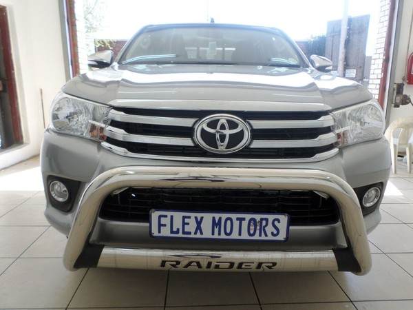2017 Toyota Hilux 2.8 GD-6 RB Auto Raider Double Cab Bakkie Gauteng Johannesburg_0