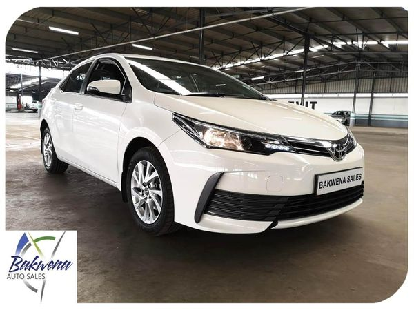 2018 Toyota Corolla 1.6 Prestige Gauteng Karenpark_0