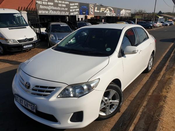 2012 Toyota Corolla 1.6 Advanced At  Gauteng Kempton Park_0