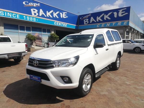 2018 Toyota Hilux 2.4 GD-6 RB SRX Single Cab Bakkie Western Cape Parow_0
