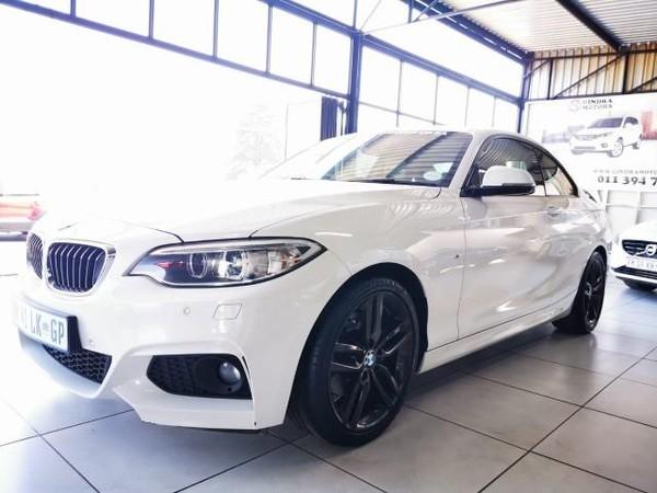 2016 BMW 2 Series 220D M Sport Auto Gauteng Kempton Park_0