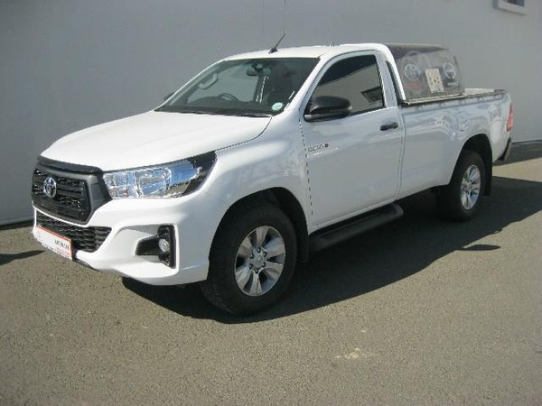 2019 Toyota Hilux 2.4 GD-6 RB SRX Single Cab Bakkie Northern Cape Kimberley_0
