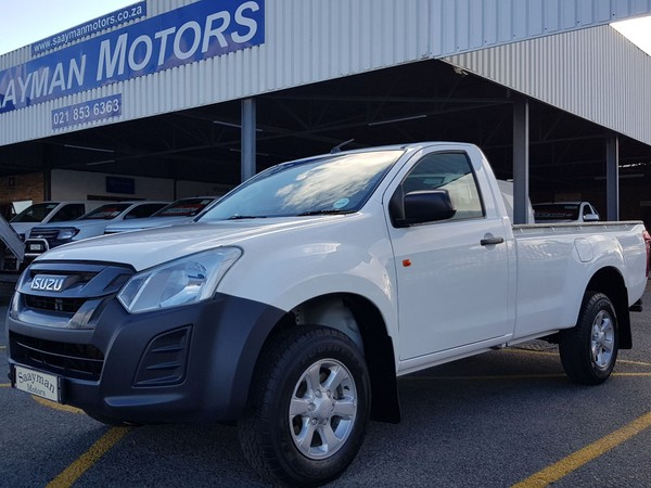 2016 Isuzu KB Series 250D LEED Fleetside Single Cab Bakkie Western Cape Strand_0