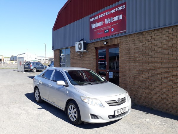 2009 Toyota Corolla 1.6 Professional  Western Cape Brackenfell_0