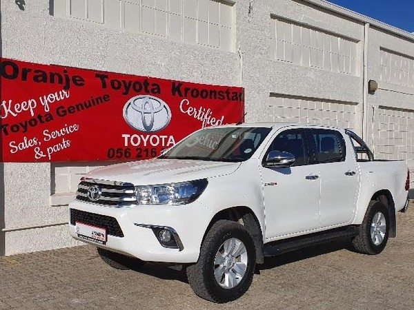 2016 Toyota Hilux 2.8 GD-6 Raider 4X4 Double Cab Bakkie Auto Free State Kroonstad_0