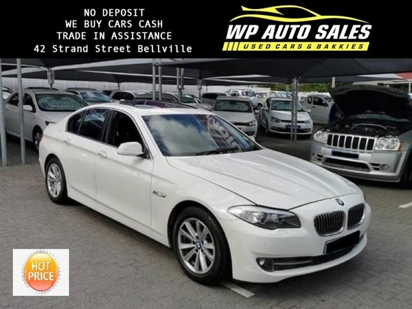2010 BMW 5 Series 523i At e60  Western Cape Bellville_0
