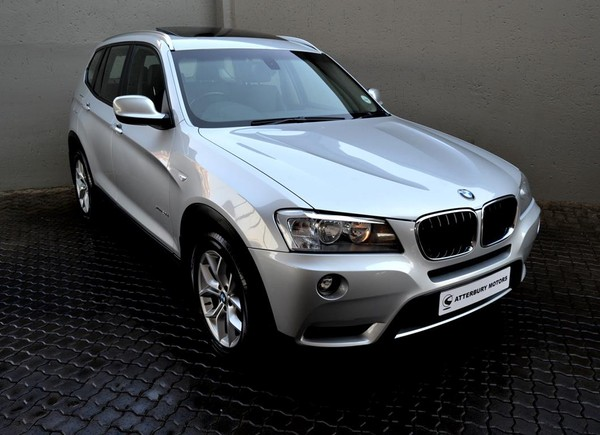 2012 BMW X3 Xdrive20d Exclusive At  Gauteng Pretoria_0