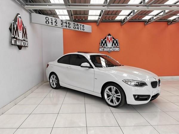 2016 BMW 2 Series 220D Sport Line Auto Gauteng Pretoria_0