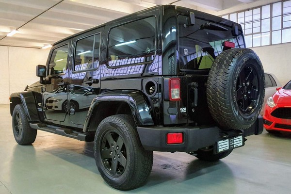 2012 Jeep Wrangler Unlimited 3.6l V6 At  Western Cape Maitland_0
