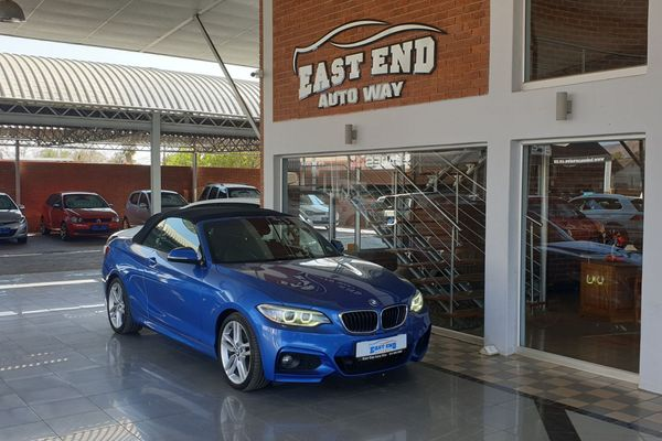 2015 BMW 2 Series 220i Convertible M Sport Auto F23 North West Province Rustenburg_0