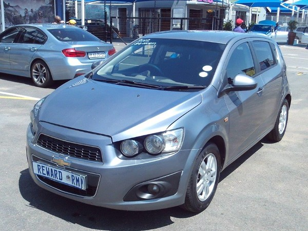 2012 Chevrolet Sonic 1.3d Ls 5dr  Gauteng Boksburg_0