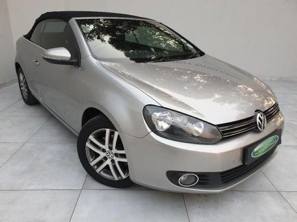 2012 Volkswagen Golf Vi 1.4 Tsi Cabrio Cline  Gauteng Four Ways_0