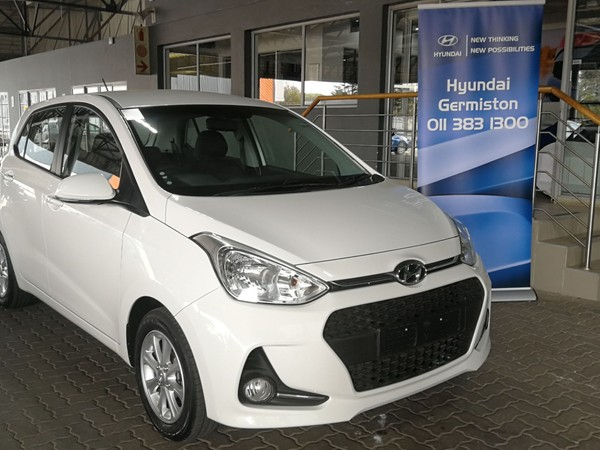 2018 Hyundai Grand i10 1.25 Fluid Gauteng Germiston_0