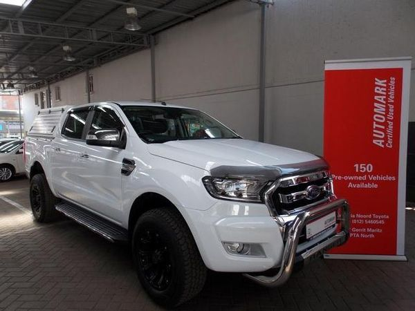 2016 Ford Ranger 3.2TDCi XLT Double Cab Bakkie Gauteng Pretoria North_0