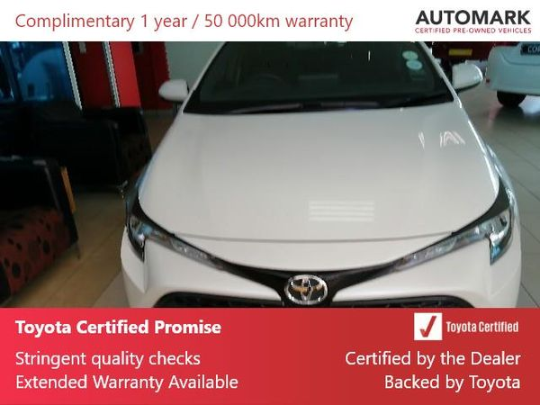 2019 Toyota Corolla 1.2T XS CVT 5-Door Gauteng Krugersdorp_0