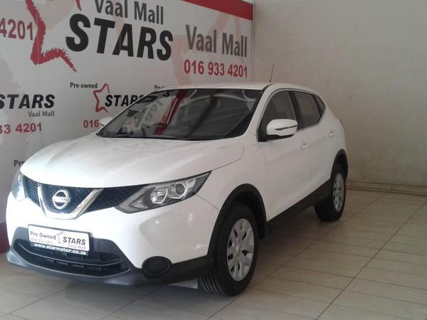 2015 Nissan Qashqai 1.2T Visia Gauteng Vanderbijlpark_0