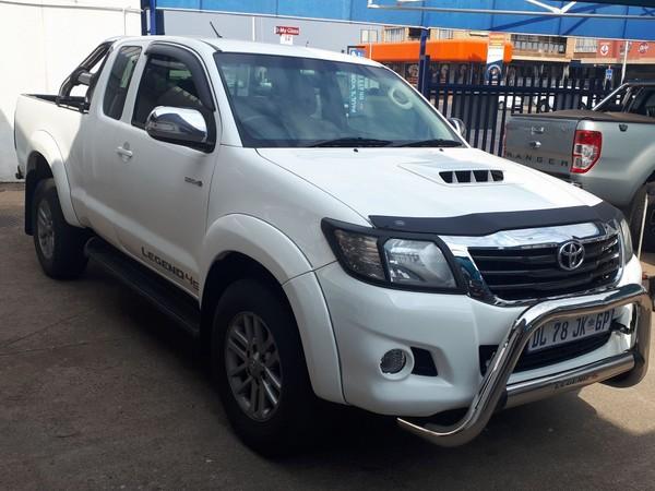 2015 Toyota Hilux 3.0D-4D LEGEND 45 XTRA CAB PU Gauteng Roodepoort_0