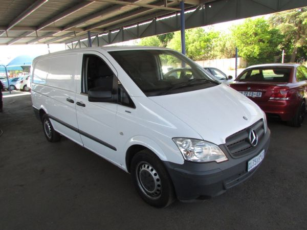 2013 Mercedes-Benz Vito 116 2.2 CDI FC PV Gauteng Boksburg_0