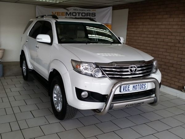 2012 Toyota Fortuner 4.0 V6 Rb At  Gauteng Edenvale_0