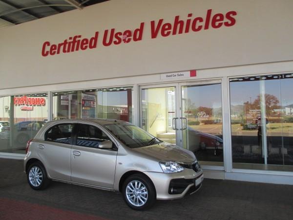 2018 Toyota Etios 1.5 Xs 5dr  Limpopo Limpopo_0