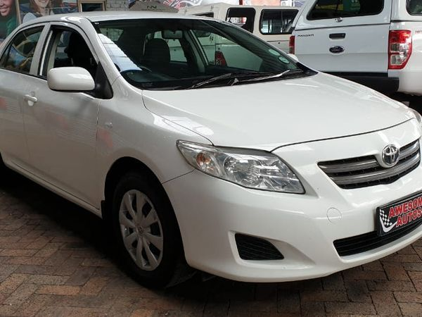 2009 Toyota Corolla 1.4 Professional  Western Cape Goodwood_0