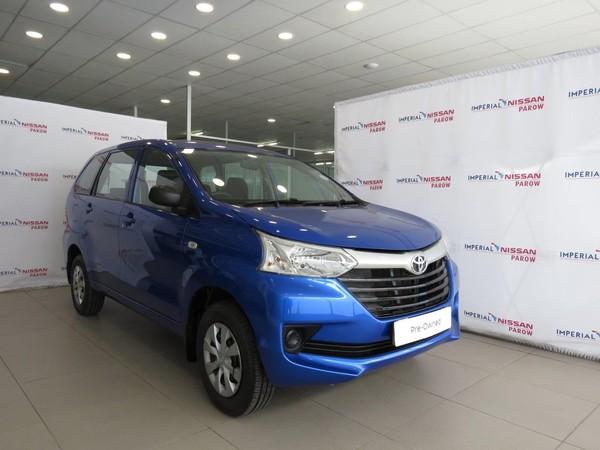 2018 Toyota Avanza 1.3 S Western Cape Parow_0