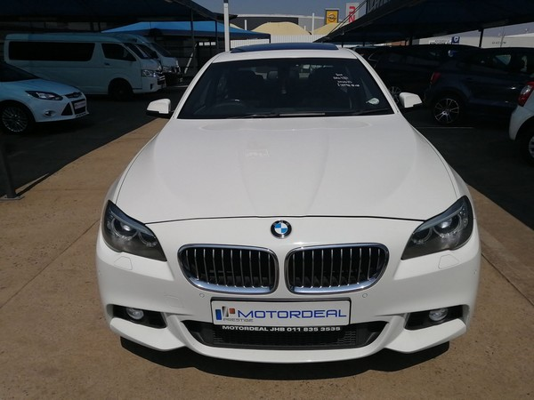 Used BMW 5 Series 520i Auto M Sport for sale in Gauteng