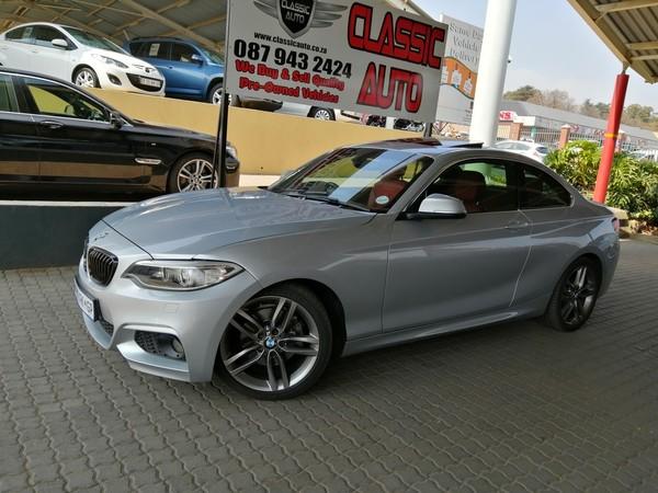 2015 BMW 2 Series 220D M Sport Auto Gauteng Randburg_0