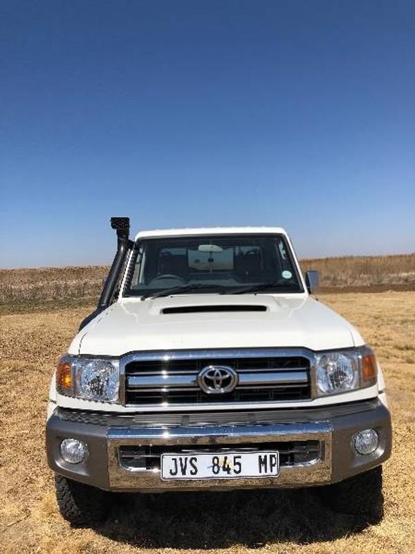 2018 Toyota Land Cruiser 70 4.5D Single cab Bakkie Mpumalanga Delmas_0