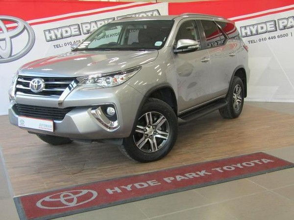 Used Toyota Fortuner 2 4GD-6 R/B Auto for sale in Gauteng