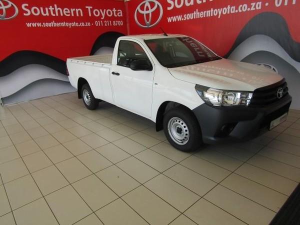 2016 Toyota Hilux 2.4 GD AC Single Cab Bakkie Gauteng Lenasia_0