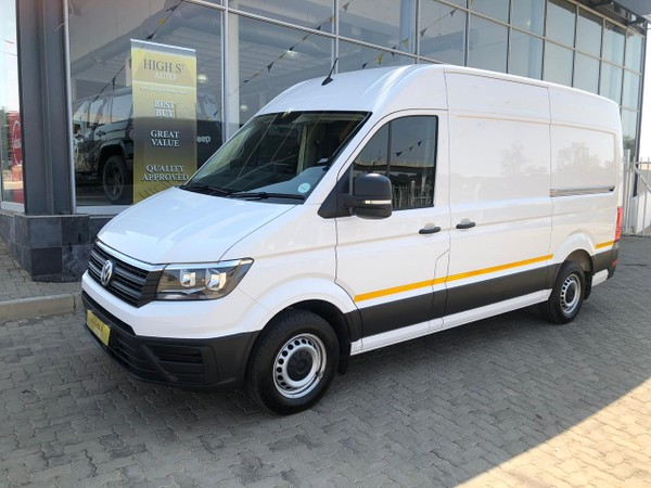 2018 Volkswagen Crafter 35 2.0TDi MWB Fc Pv 103 KW with a VW warranty Gauteng Midrand_0