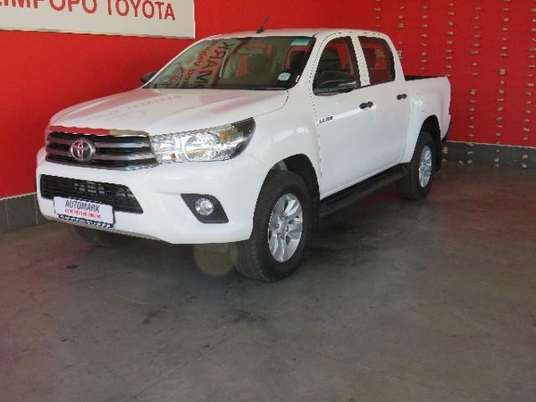 2018 Toyota Hilux 2.4 GD-6 SRX 4X4 Double Cab Bakkie Auto Limpopo Polokwane_0