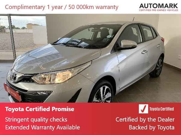 2018 Toyota Yaris 1.5 Xs CVT 5-Door North West Province Vryburg_0