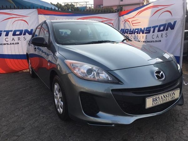 2012 Mazda 3 1.6 Sport Original  Gauteng Bryanston_0