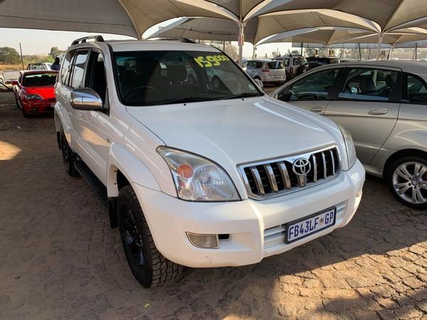 2005 Toyota Prado Gx 3.0 Tdi 5d  Gauteng Boksburg_0