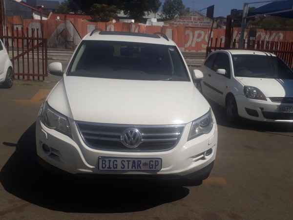 2010 Volkswagen Tiguan 2.0 Tdi Sport-style 4m Tip  Gauteng Johannesburg_0