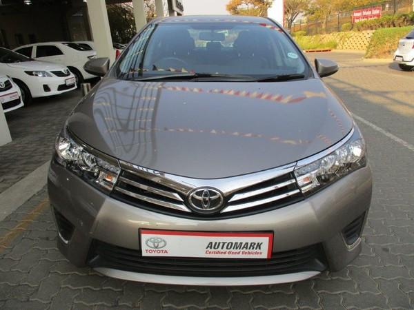 2016 Toyota Corolla 1.4D Prestige Gauteng Pretoria_0