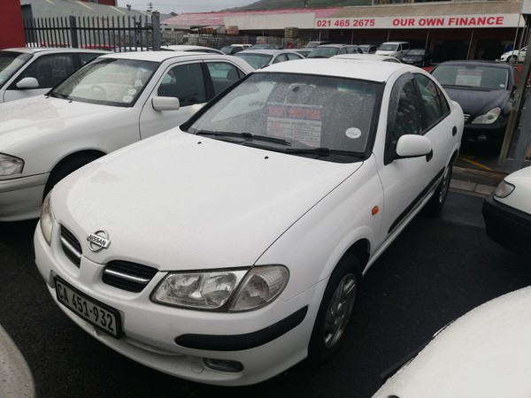 2002 Nissan Almera 1.6 Luxury At h03  Western Cape Cape Town_0