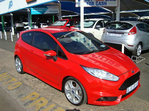 2014 Ford Fiesta ST 1.6 Ecoboost GDTi Gauteng Pretoria_0