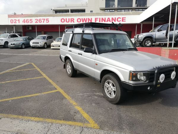 2004 Land Rover Discovery Gs Td5 At  Western Cape Cape Town_0
